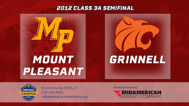 2012 Basketball 3A Semifinal - Mount ...