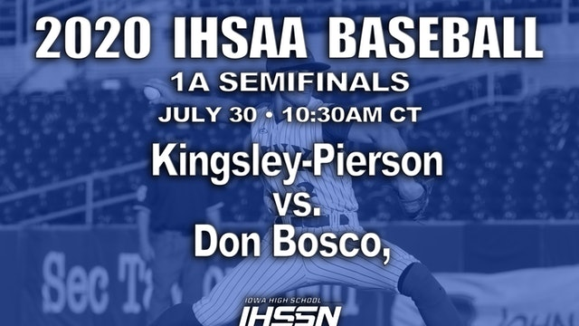 1A SEMIFINALS - KINGSLEY-PIERSON VS. DON BOSCO