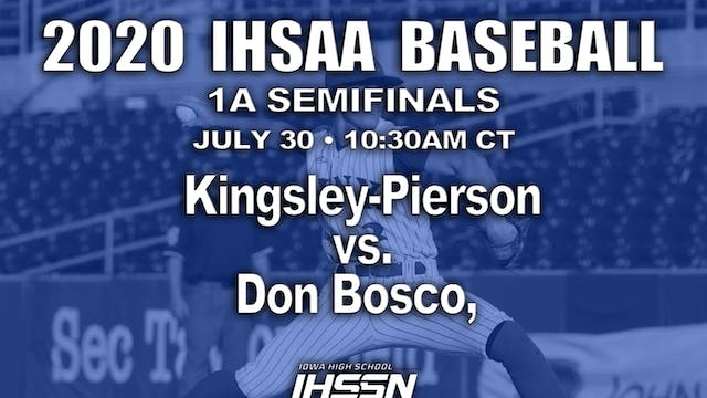1A SEMIFINALS - KINGSLEY-PIERSON VS. ...