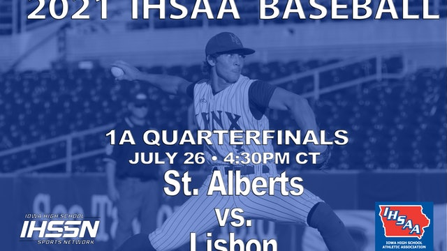 2021 1A Quarterfinals - Lisbon vs. St.Alberts
