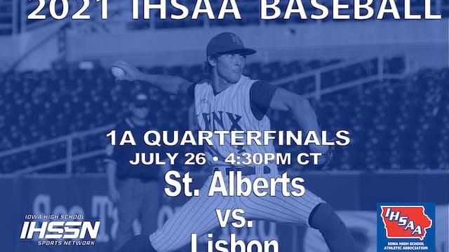 2021 1A Baseball Quarter Finals: Lisb...