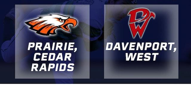 2016 Baseball 4A Quarterfinal - Prairie, Cedar Rapids vs. Davenport, West