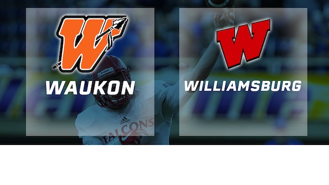 2017 Football Class 2A Final - Waukon vs. Williamsburg