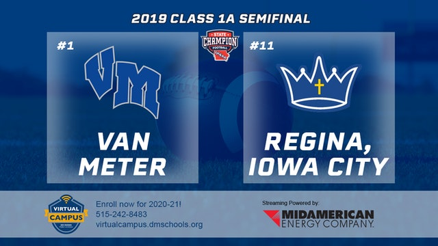 2019 Football 1A Semifinal - #1 Van Meter vs. #11 Regina, Iowa City