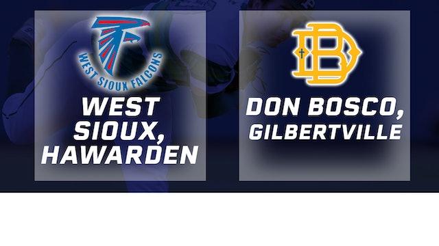 2016 Baseball 1A Semifinal - West Sioux, Hawarden vs. Don Bosco, Gilbertville