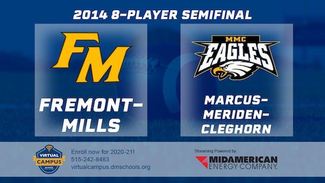 2014 Football 8-Player Semifinal Frem...