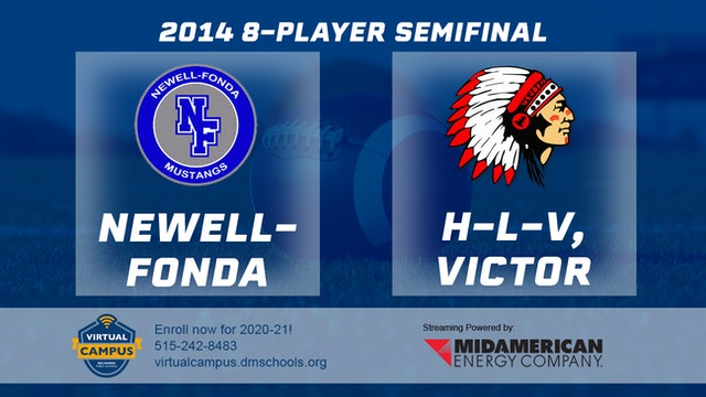 2014 Football 8-Player Semifinal Newell-Fonda vs. H-L-V, Victor