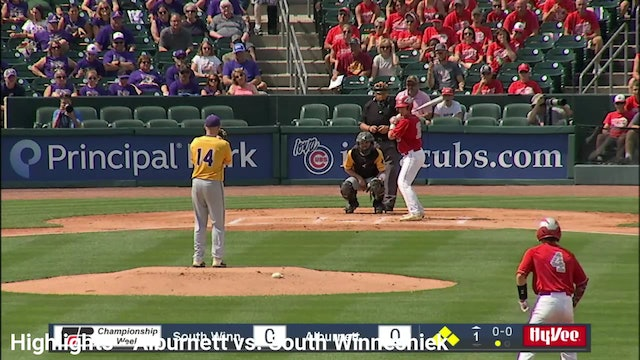 2019 Baseball Highlights - 1A QF Alburnett vs. South Winneshiek