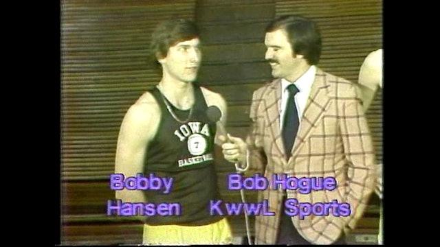 1980 Boys Basketball Class 2A Semifinals St. Edmond vs Knoxville Part 1