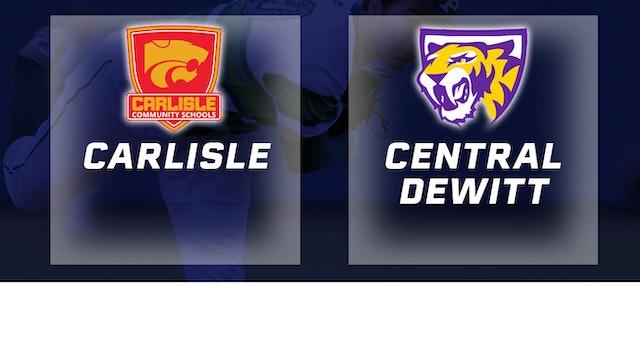 2016 Baseball 3A Quarterfinal - Carlisle vs Central DeWitt