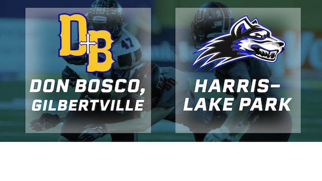 2016 Football 8-Player Final - Don Bosco, Gilbertville vs. Harris-Lake Park