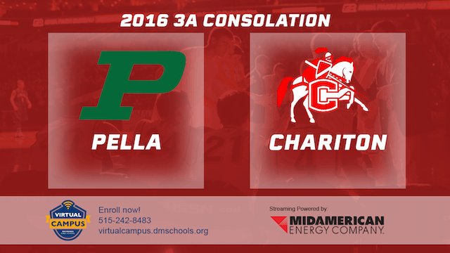 2016 Basketball 3A Consolation Pella vs. Chariton