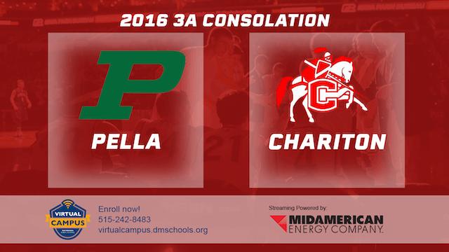 2016 3A Basketball Consolation: Pella...