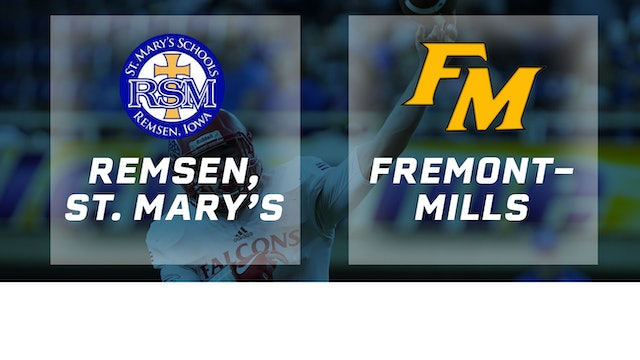 2017 Football 8-Player Semifinal - Remsen, St. Mary's vs. Fremont-Mills, Tabor