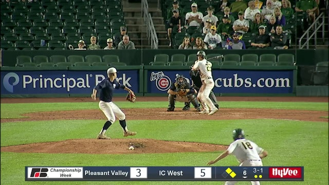 2019 Baseball Highlights - 4A QF Iowa City West vs. Pleasant Valley