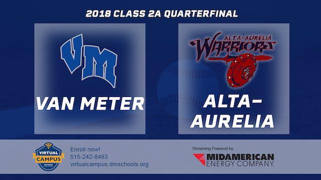 2018 Baseball 2A Quarterfinal - Van M...