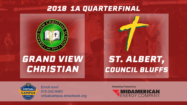 2018 Basketball 1A QF - Grand View Ch...