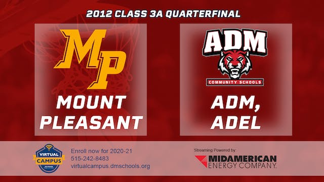 2012 Basketball 3A Quarterfinal - Mou...