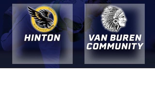 2016 Baseball 2A Quarterfinal - Hinton vs. Van Buren Community