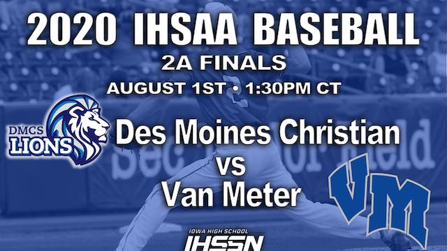 2A FINALS - DM CHRISTIAN VS. VAN METER