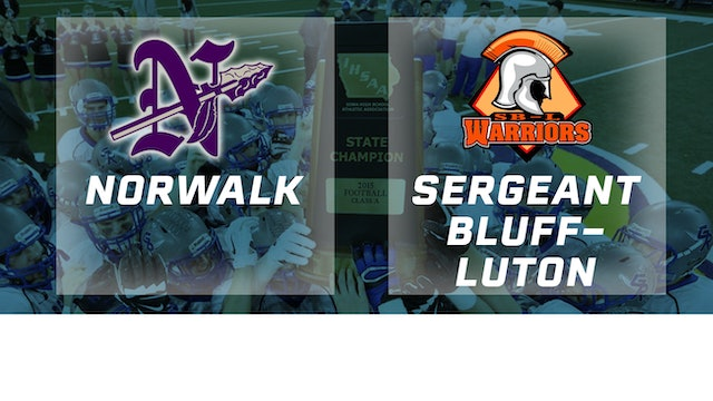 2015 Football Class 3A Semifinal - Norwalk vs. Sergeant Bluff-Luton