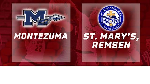 2019 Basketball 1A Consolation - Montezuma vs. St. Mary's Remsen
