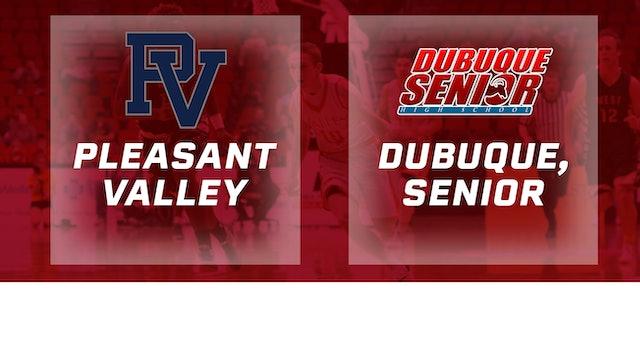2016 Basketball 4A Quarterfinal Pleasant Valley vs. Dubuque, Senior