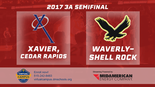 2017 Basketball 3A Semifinal (Xavier,...