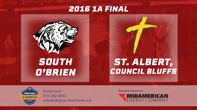 2016 Basketball 1A Final South O'Brie...