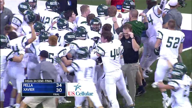 2016 Football 3A Semifinal Highlights - Pella vs. Xavier, Cedar Rapids