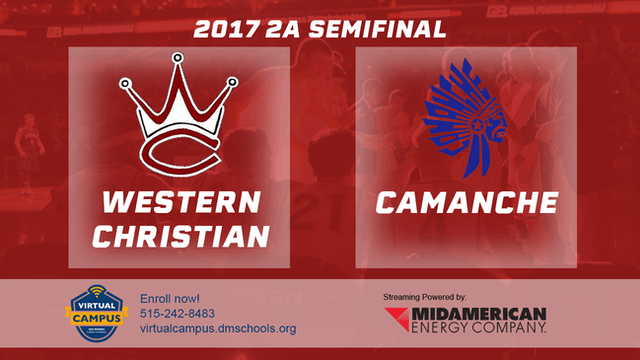 2017 Basketball 2A Semifinal (Western...