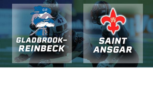 2016 Football Class A Semifinal - Gladbrook-Reinbeck vs. Saint Ansgar