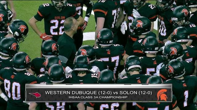 Game Recap - 3A Final Western Dubuque vs. Solon ft. Max Herz