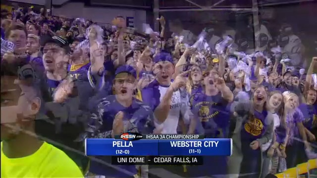 2016 Football 3A Finals Highlights - Pella vs. Webster City