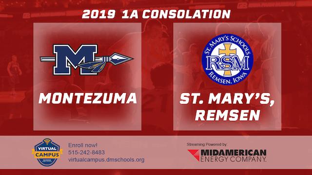 2019 1A Basketball Consolation: Monte...