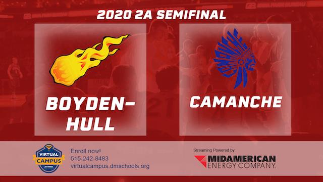 2020 Basketball 2A Semifinal - Boyden...