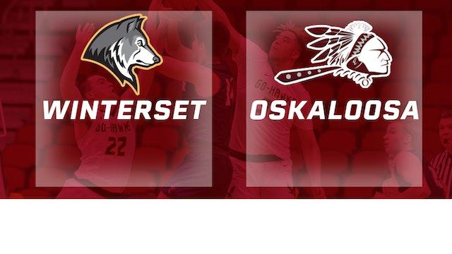 2019 Basketball 3A Semifinal - Winterset vs. Oskaloosa