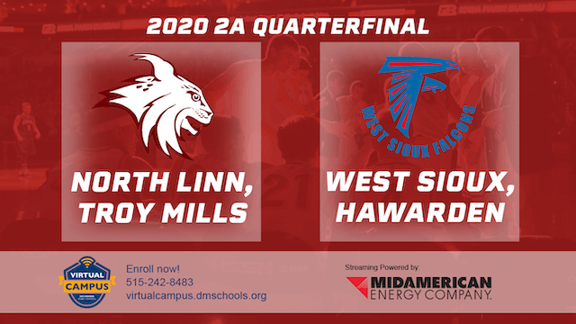 2020 Basketball 2A Quarterfinal - Nor...