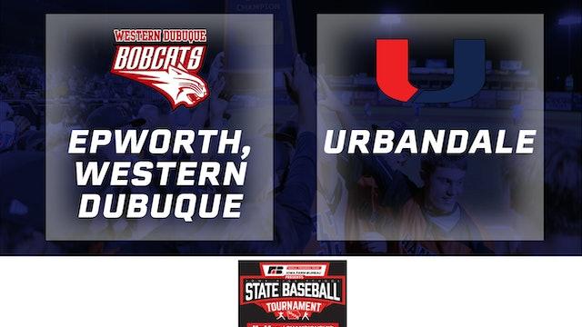 2019 Baseball 4A Quarterfinal - Western Dubuque, Epworth vs. Urbandale