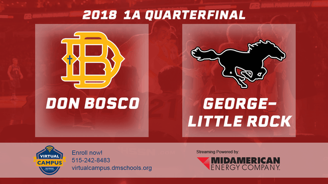 2018 Basketball 1A QF (Don Bosco, Gilbertville vs. George-Little Rock)