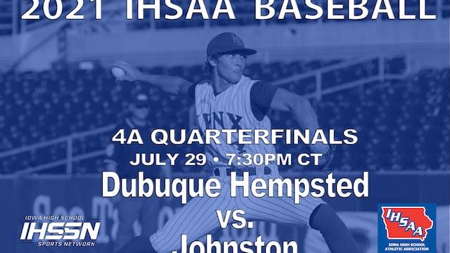 2021 4A Baseball Quarter Finals: Hems...
