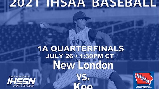 2021 1A Quarterfinals - New London vs. Kee
