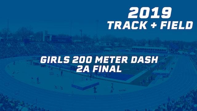 Girls 200 Meter Dash 2A Final