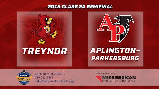 2015 2A Basketball Semi Finals: Treynor vs. Aplington-Parkersburg