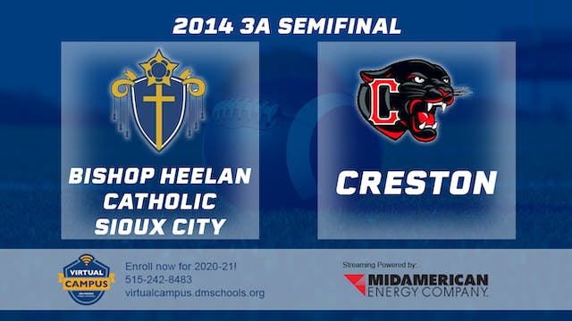 2014 Football 3A Semifinal Bishop Hee...