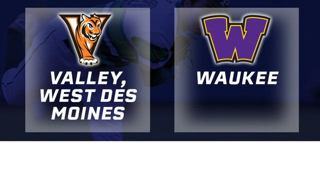 2018 Baseball 4A Quarterfinal - Valley, West Des Moines vs. Waukee