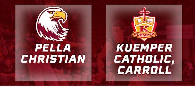 2017 Basketball 2A Semifinal (Pella Christian vs. Kuemper Catholic, Carroll)
