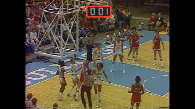 1985 Boys Basketball Class 3A Cons CR Washington vs. Waterloo Central Part 2