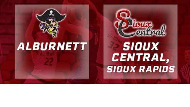 2019 Basketball 1A Quarterfinal - Sioux Central, Sioux Rapids vs. Alburnett