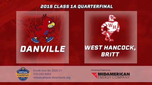 2015 Basketball Class 1A Quarterfinal...